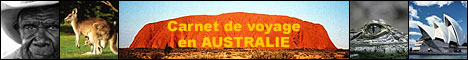 Carnet de voyage en Australie